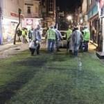 Ordu'da vatandaş için caddeye halı serildi