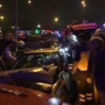 Ters yönde giden araç kaza yaptı: 7 yaralı