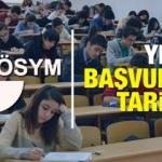 Üniversite sınavı başvuru tarihi açıklandı! YKS Sınavı başvurusu...