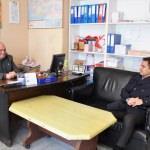 Kaymakam Altınpınar'dan yerel gazetelere ziyaret