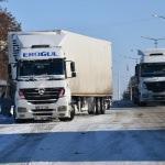 Kulu'da kar nedeniyle dinlendirilen araçlar yola çıktı