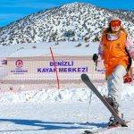 Denizli'de ücretsiz kayak kurslarına yoğun ilgi