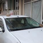 Araçlara zarar veren madde bağımlısı hükümlü yakalandı
