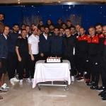 Sivasspor'da Muhammet Demir'in doğum günü kutlandı