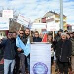 Sarıkaya'da Doğu Türkistan için yürüyüş düzenlendi