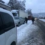 Zonguldak'ta kar yağışı