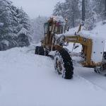 Akseki'de kapalı mahalle yolları ulaşıma açıldı