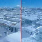 Lübnan'daki mültecilerin zorlu kış şartları!