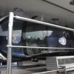Emniyet kemeri simülatör aracını Vali Bilgin test etti