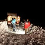 Manisa'da yaylada mahsur kalan 2 teknisyen kurtarıldı