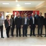 AK Parti teşkilatından CHP'ye taziye ziyaret