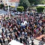 """Antalya'da öğrencilere """"karlı"""" karne hediyesi"""