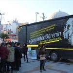 Narkotik Eğitim Tırı Bandırma'da