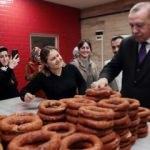 Başkan Erdoğan simitçide!