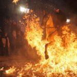 İspanya'da şaşırtan gelenek: Tepkilere yol açtı!