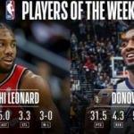 NBA'de haftanın oyuncuları açıklandı