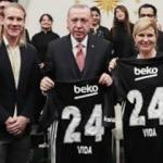 Vida'dan Cumhurbaşkanı Erdoğan'a forma