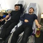 Yerköy Ülkü Ocaklarından Kızılay'a kan bağışı desteği