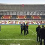 Gaziantepspor maça çıkmadı