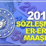 2019 Sözleşmeli Er ve Erbaş maaşları ne kadar? Yeni zamlı ücretler...