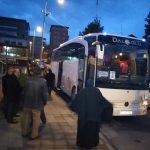 Zonguldak'ta, umre kafilesi uğurlandı