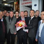 AK Parti ve MHP'lilerden CHP'ye ziyaret