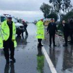 Bakan Soylu'nun koruma ekibi kaza yaptı