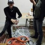 Bartın'da inşaat ve parklardan kablo hırsızlığı