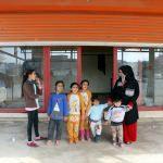 Suriyeli ailenin boş dükkanda yaşam mücadelesi