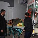 Yaralı vatandaş 8 saatlik çalışmayla hastaneye ulaştırıldı