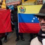 Kadıköy'de Venezuela'ya destek eylemi! Türkçe teşekkür etti