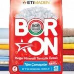 Milli madenimiz Bor'dan yerli temizlik ürünü: BORON