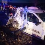 Denizli'de hafif ticari araçla otobüs çarpıştı: 3 yaralı