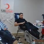 Çorum polisinden kan bağışı kampanyasına destek