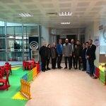 Demirci Devlet Hastanesi'nde çocuk oyun odası