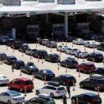 Toplam 26 milyon 647 bin yolcu geçiş yaptı