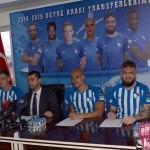 Büyükşehir Belediye Erzurumspor 6 futbolcuyla sözleşme imzaladı