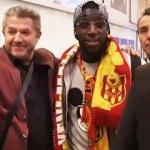 Aboubakar Kamara, İstanbul'a geldi!