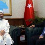 Diyanet İşleri Başkanı Erbaş'tan Bakan Akar'a ziyaret