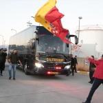 Galatasaray kafilesi Alanya'da