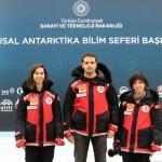 AA ekibi Antarktika yolunda