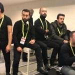 Fenerbahçe maçını soyunma odasında izlediler!