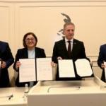 Kültürel ortak tesis projesi için 4'lü protokol imzalandı
