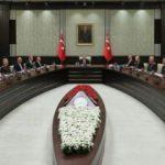 MGK toplantısı Beştepe'de başladı