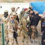 PKK yandaşları görevlilere saldırdı