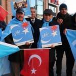 New York'ta Doğu Türkistan protestosu