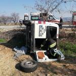 Denizli'de trafik kazaları: 6 yaralı