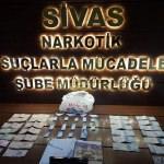 Sivas'ta narkotik sokak operasyonları