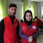 Hizanlı gençlerden kan bağışı kampanyasına destek