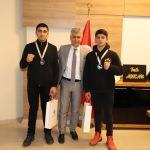 Cizre Kaymakamı Arıcan, şampiyon sporcuları ağırladı